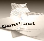 Geen contractverlenging